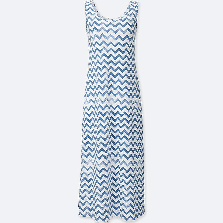 WOMEN MICKEY & THE SUN GRAPHIC BRA DRESS, BLUE, large