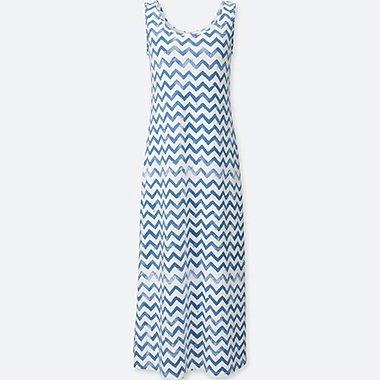 WOMEN MICKEY & THE SUN GRAPHIC BRA DRESS, BLUE, medium