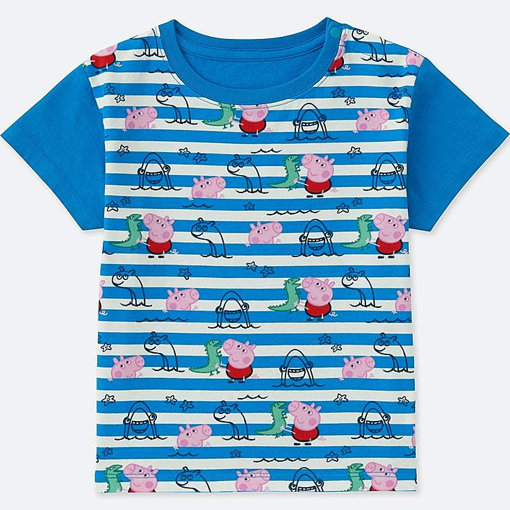 TODDLER PEPPA PIG SHORT-SLEEVE GRAPHIC T-SHIRT, BLUE, large