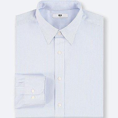 MEN Easy Care Striped Regular Fit Long Sleeve Shirt