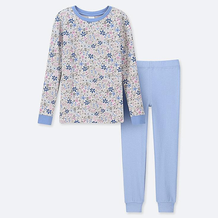 GIRLS ULTRA STRETCH SWEAT SET, BLUE, large
