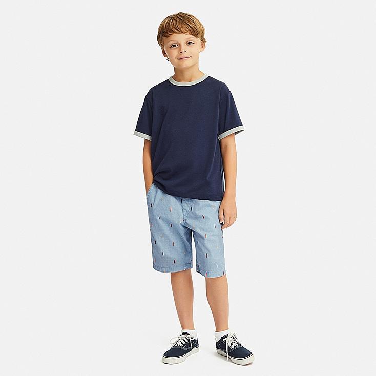 BOYS EASY SHORTS, BLUE, large