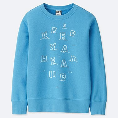 KIDS PIETER CEIZER GRAPHIC PRINT SWEATSHIRT