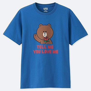 BEDRUCKTES T-SHIRT LINE FRIENDS