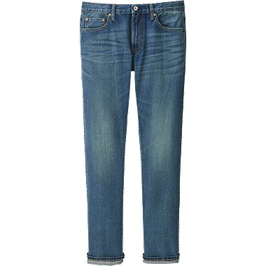HERREN Regular Fit Selvedge Jeans