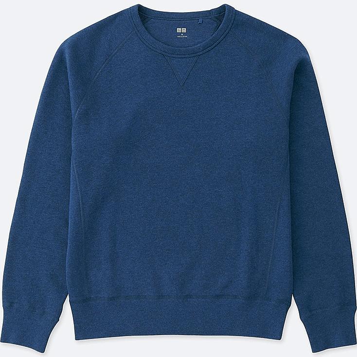 Men's Sweatshirt, BLUE, large