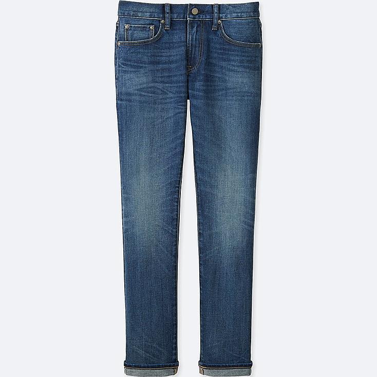 MEN Stretch Selvedge Slim Fit Jeans
