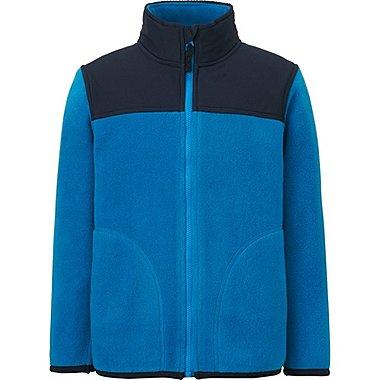 BOYS Fleece Full Zip Long Sleeve Jacket