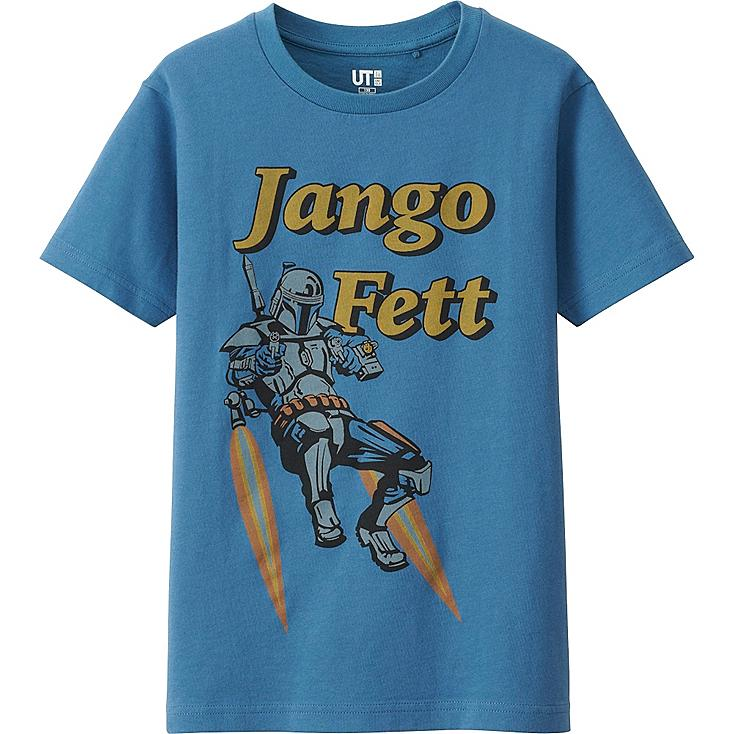 KINDER T-Shirt bedruckt STAR WARS