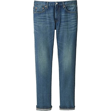 MEN Selvedge Regular Fit Jeans