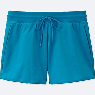 WOMEN DRY-EX ULTRA STRETCH SHORTS, BLUE, medium