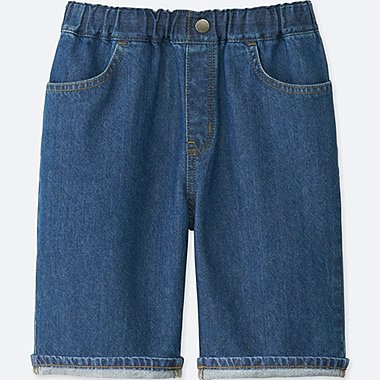 BOYS DENIM EASY SHORTS, BLUE, medium