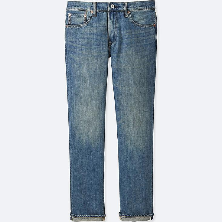 MEN Selvedge Regular Fit Jeans