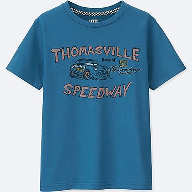 KIDS CARS 3 SHORT-SLEEVE GRAPHIC T-SHIRT, BLUE, medium