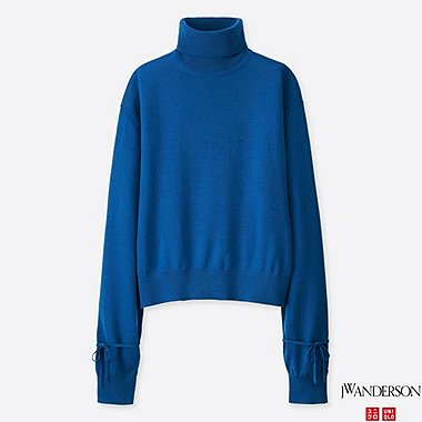 WOMEN J.W.ANDERSON OVERSIZE TURTLENECK SWEATER