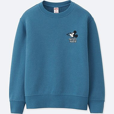 KIDS SOUNDS OF DISNEY PULLOVER SWEATSHIRT, BLUE, medium