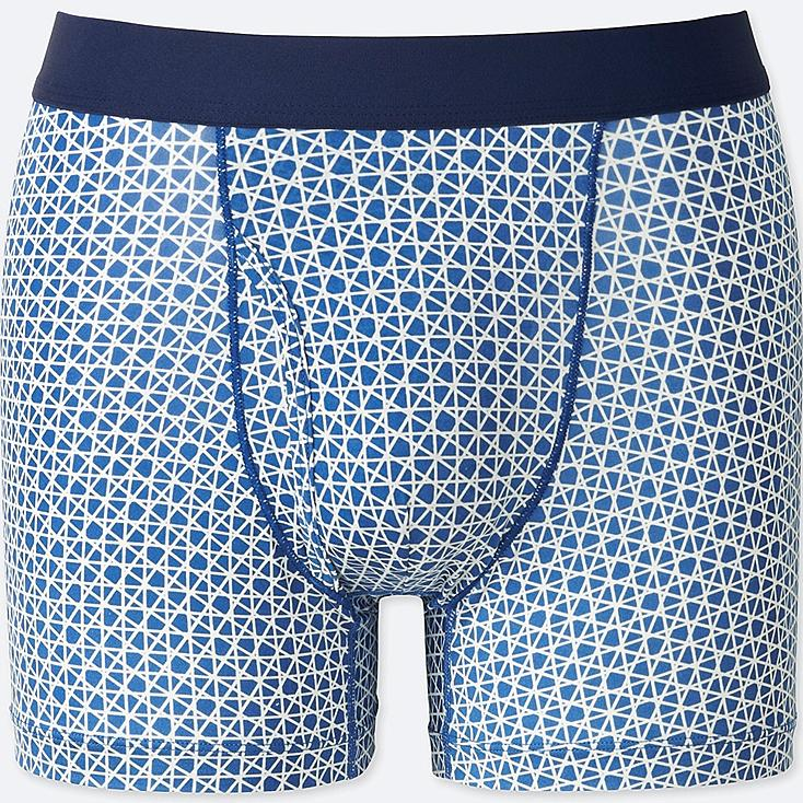MEN AIRism SPRZ NY BOXER BRIEFS (FRANCOIS MORELLET) at UNIQLO in Brooklyn, NY | Tuggl