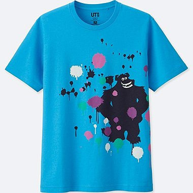 COLOR OF PIXAR SHORT SLEEVE GRAPHIC T-SHIRT, BLUE, medium