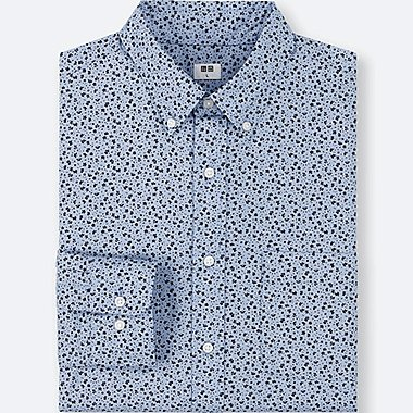 MEN Extra Fine Cotton Broadcloth Long Sleeve Shirt