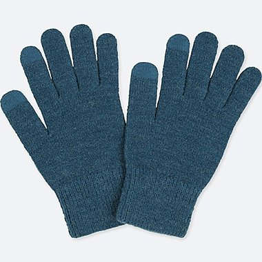 HEATTECH KNITTED TOUCH SCREEN GLOVES