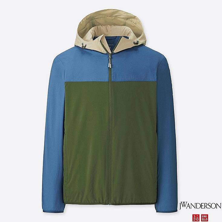 JWA POCKETABLE PARKA, BLUE, large