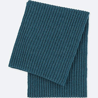 HEATTECH SNOOD, BLUE, medium