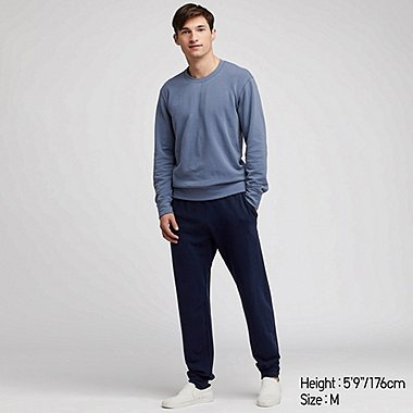 MEN ULTRA STRETCH LONG SLEEVED LOUNGE SET
