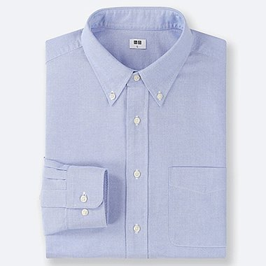 HERREN OXFORD-HEMD (REGULAR FIT, BUTTON-DOWN-KRAGEN)