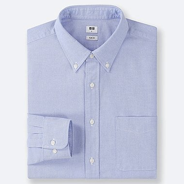 CAMISA OXFORD SLIM FIT HOMBRE
