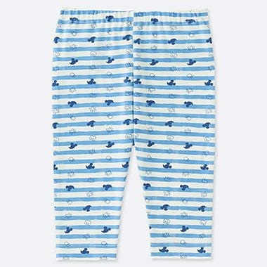 TODDLER MICKEY BLUE CROPPED LEGGINGS, BLUE, medium