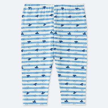 BABIES TODDLER MICKEY BLUE CROPPED LEGGINGS
