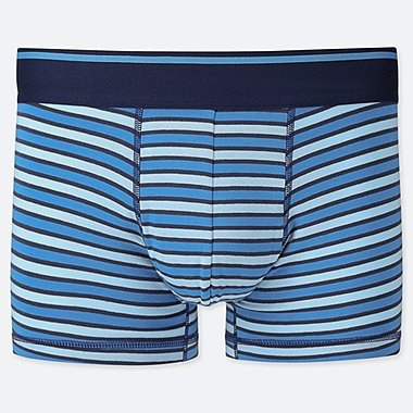 MEN SUPIMA COTTON STRIPED BOXER SHORTS