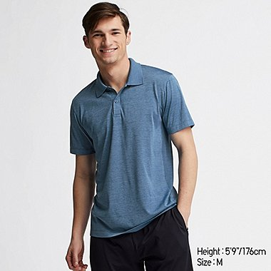 MEN DRY-EX SHORT SLEEVED POLO SHIRT