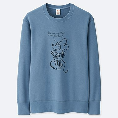 MEN CELEBRATE MICKEY GRAPHIC SWEATSHIRT