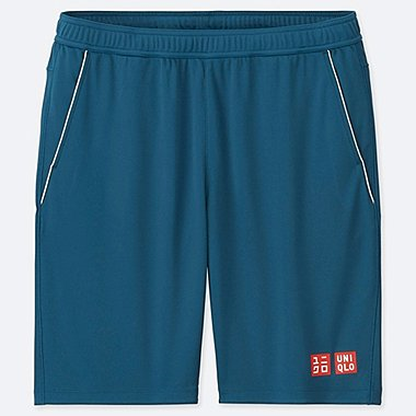 MEN DRY SHORTS (ROGER FEDERER 19AUS), BLUE, medium