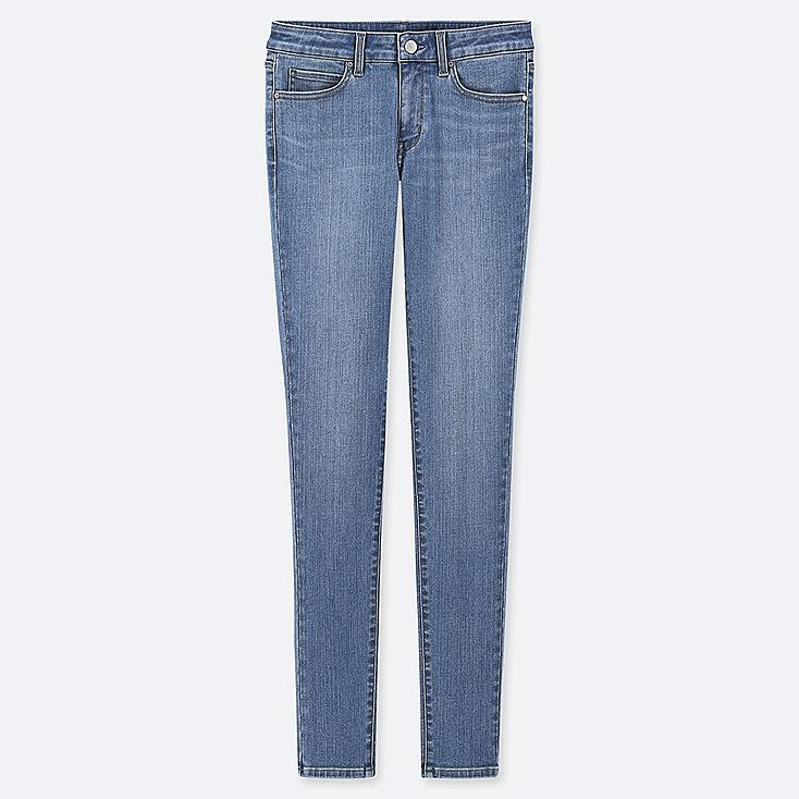 """WOMEN ULTRA STRETCH JEANS (TALL 34"""") (ONLINE EXCLUSIVE), BLUE, large"""