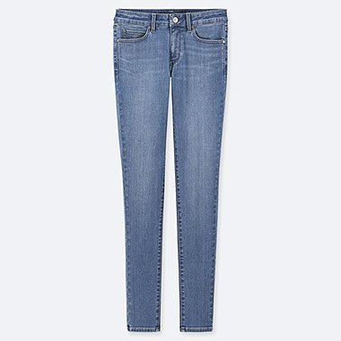 "WOMEN ULTRA STRETCH JEANS (TALL 34"") (ONLINE EXCLUSIVE), BLUE, medium"