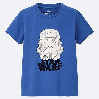 KIDS MASTER OF GRAPHICS FEATURING STAR WARS UT (SHORT-SLEEVE GRAPHIC T-SHIRT), BLUE, medium