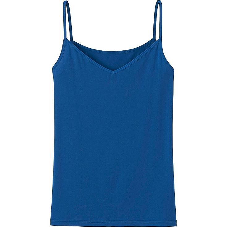 WOMEN AIRism CAMISOLE, BLUE, large