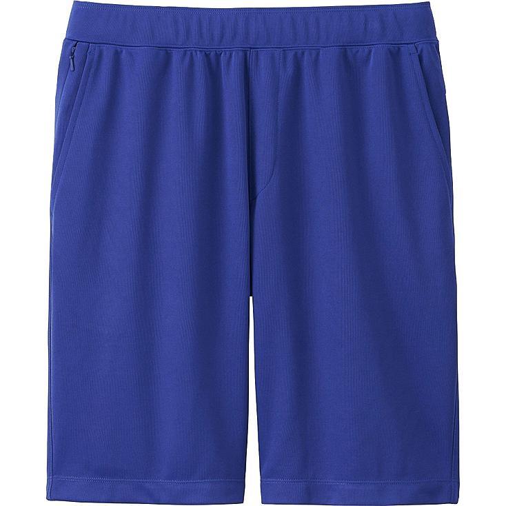 Men DRY-EX Shorts, BLUE, large