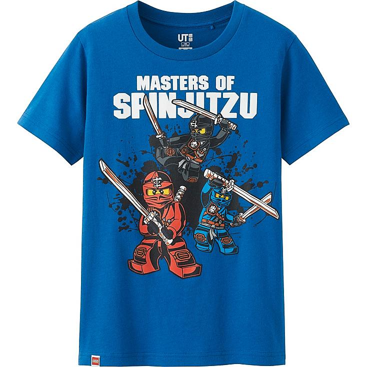 BOYS LEGO® Ninjago Graphic T-Shirt, BLUE, large
