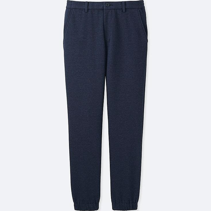 MEN JOGGER PANTS  (JERSEY), BLUE, large