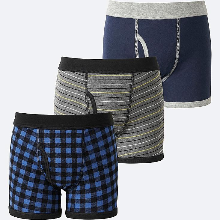 BOYS BOXER BRIEF 3 PACK, BLUE, large