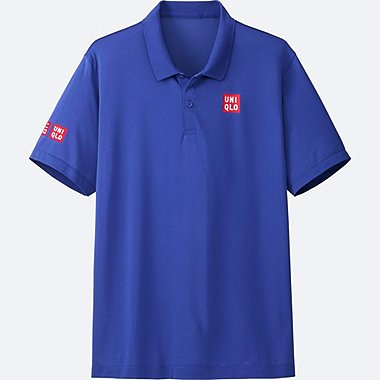 MEN Kei Nishikori Dry-EX Short Sleeve Polo Shirt 17Aus