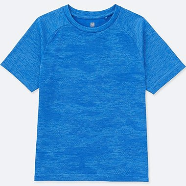 KIDS Dry Ex Crew Neck Short Sleeve T-Shirt