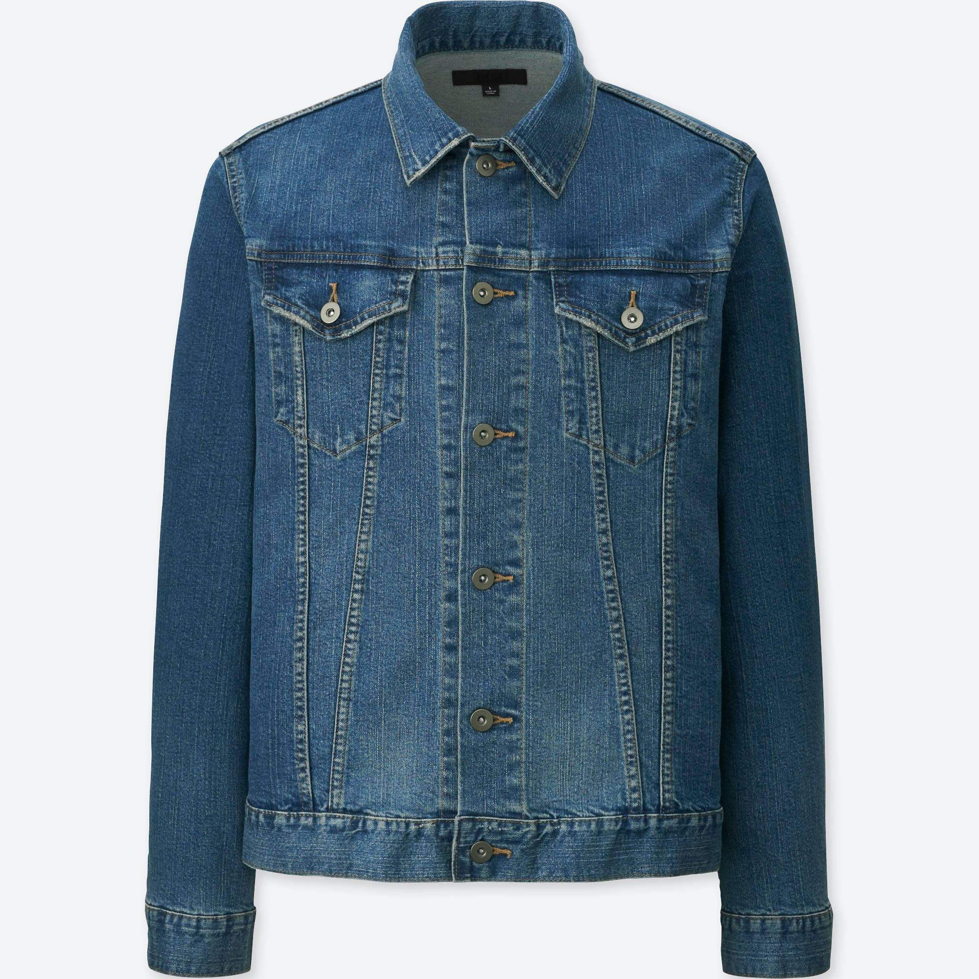 MEN DENIM JACKET | UNIQLO US