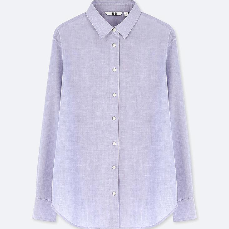 Women Soft Cotton Long Sleeve Shirt Online Exclusive