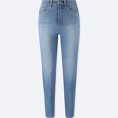 WOMEN HIGH RISE ULTRA STRETCH SKINNY ANKLE JEANS