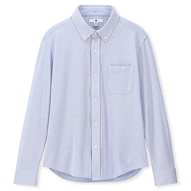 BOYS COMFORT SHIRT, BLUE, medium