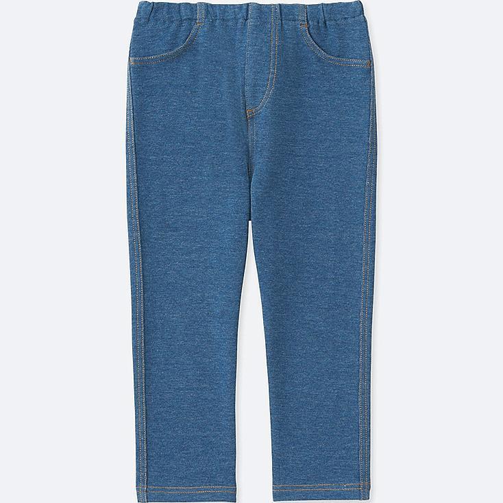 TODDLER LEGGINGS, BLUE, large